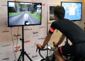 Indoor Virtual Reality Cycling