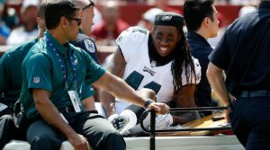 Ronald Darby Dislocated Ankle