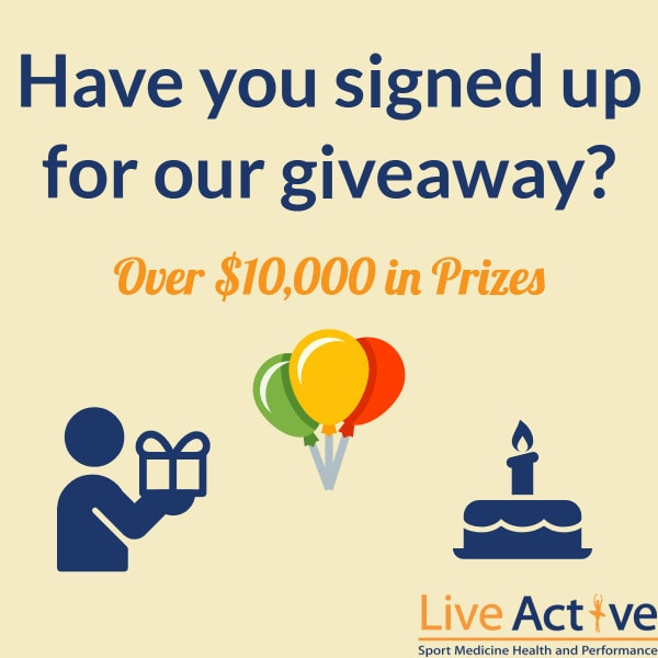 LiveActive - Giveaway with Over $10,000 in Prizes